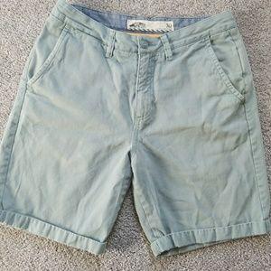 VANS blue shorts size 30